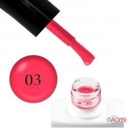 Гель-лак Nails Molekula 003 амарантовый, 11 мл