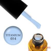 Гель-лак F.O.X Spectrum Gel Vinyl 054 Titanium серо-сиреневый, 7 мл
