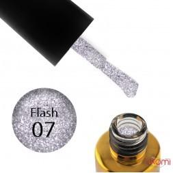 Гель-лак F.O.X Flash 007 ліловий шарм, світловідбиваючий, 6 мл