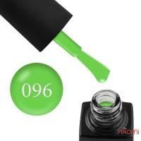 Гель-лак GO Active 096 Beauty is Power яркий светло-зеленый, 10 мл