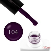 Гель-лак Nails Molekula 104 винный, 11 мл
