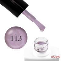 Гель-лак Nails Molekula 113 фиолетовый перламутр, 11 мл