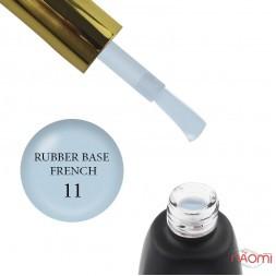 База камуфлирующая каучуковая для гель-лака You POSH French Rubber Base De Luxe 11, 12 мл