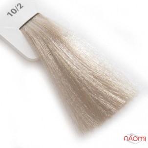 Крем-краска для волос Lisap LK Creamcolor OPC 10/2, ультрасветлый блондин пепельный, 100 мл