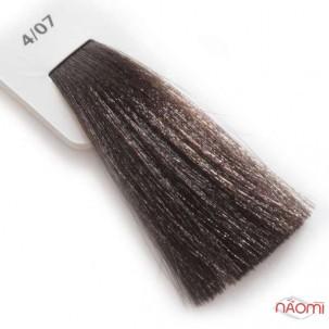 Крем-краска для волос Lisap LK Creamcolor OPC 4/07, шатен натуральный бежевый, 100 мл