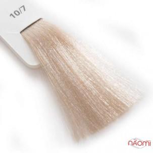 Крем-краска для волос Lisap LK Creamcolor OPC 10/7, ультрасветлый блондин бежевый, 100 мл