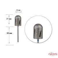 Насадка алмазная для педикюра Twister 12015с, d=13 мм