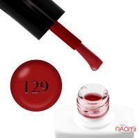 Гель-лак Nails Molekula 129 кармин, 11 мл