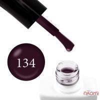 Гель-лак Nails Molekula 134 чернильный, 11 мл