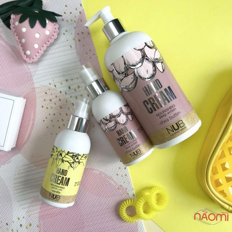 Питательный крем для рук NUB Nourishing Hand Cream Shea Butter, с маслом Ши, 500 мл, фото 2, 175.00 грн.