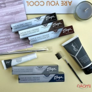 Краска для бровей и ресниц Thuya Professional Line Chestnut, цвет каштановый, 14 мл