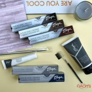 Фарба для брів і вій Thuya Professional Line Blush Black, колір синювато-чорний, 14 мл