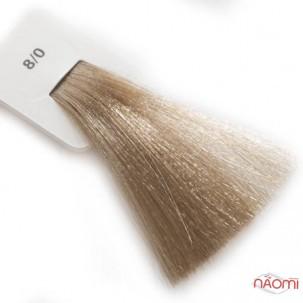 Крем-краска для волос Lisap LK Creamcolor OPC 8/0, светлый блондин, 100 мл