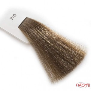 Крем-краска для волос Lisap LK Creamcolor OPC 7/0, блондин, 100 мл