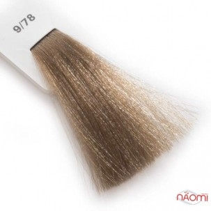 Крем-краска для волос Lisap LK Creamcolor OPC 9/78, очень светлый блондин мокко, 100 мл