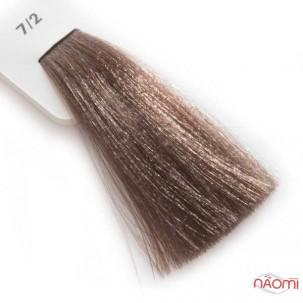 Крем-краска для волос Lisap LK Creamcolor OPC 7/2, блондин пепельный, 100 мл