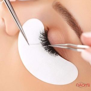 Патчи под глаза на гидрогеле Eye Gel Patches для ламинирования и наращивания в розовой упаковке