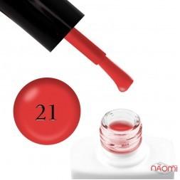 Гель-лак Nails Molekula 021 красно-кирпичный, 11 мл