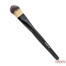 Кисть для макияжа PARISA Р08, для тонального крема, синтетика