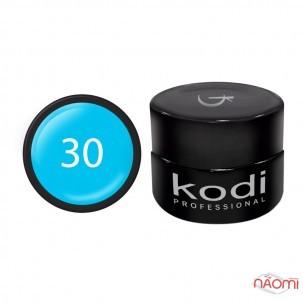 Гель-краска Kodi Professional 30, цвет голубой, 4 мл