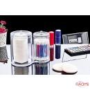 Набор органайзеров из двух цилиндрических банок BoxUp FT-015, пластик, фото 3, 120.00 грн.
