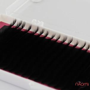 Вії Lamour C 0,07 (20 рядків: 10-14 мм), чорні