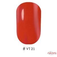 Лак Naomi VINYTONE 21 червоний корал, 12 мл