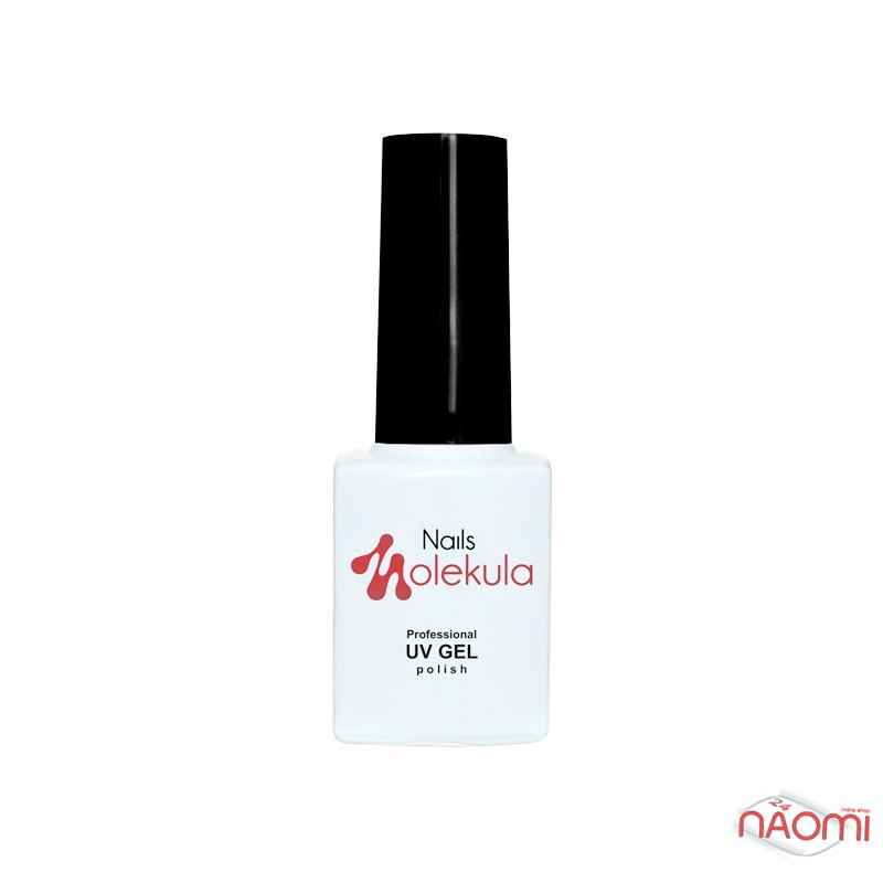 Гель-лак Nails Molekula Flash Effect F10 светоотражающий малиновый с серебристыми блестками и шиммерами, 6 мл, фото 2, 100.00 грн.