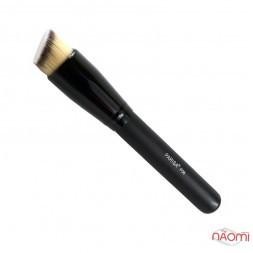 Кисть для макияжа PARISA Р06, для тональных средств, синтетика