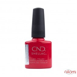 CND Shellac Treasured Moments 324 First Love малиновый, 7,3 мл