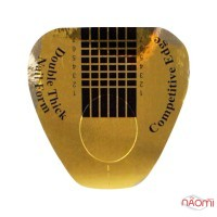 Форми для нарощування нігтів Starlet Professional широкі, золоті, 20 шт.