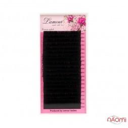 Вії Lamour C 0,085 (20 рядків: 10-14 мм), чорні