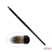 Кисть для макияжа PARISA Р15, для растушевки и контурирования теней