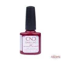 CND Shellac Ruby Ritz малиново-красный с шиммерами, 7,3 мл