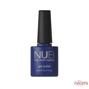 Гель-лак NUB Naked 01 Natural Shine светло-бежевый с переливающимися шиммерами и микрослюдой, 8 мл