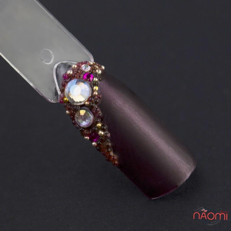 Бульонки для украшения ногтей пластиковые, цвет ассорти в пакете, 5 г, фото 2, 30.00 грн.