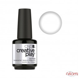 Гель-лак CND Creative Play 452 I Blanked Out білий, 15 мл