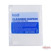 Серветка очищувальна Kodi Professional з ензимним пілінгом, 14х19 см