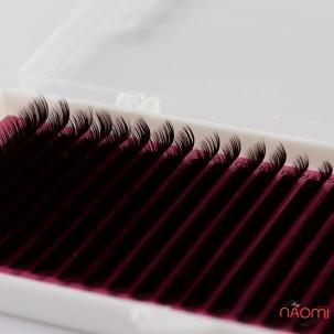 Ресницы Lamour D 0,07 (20 рядов: 7-12 мм), темный шоколад