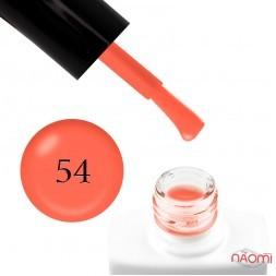 Гель-лак Nails Molekula 054 помаранчевий неон, 11 мл