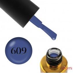 Гель-лак F.O.X Euphoria 609, джинс, 6 мл