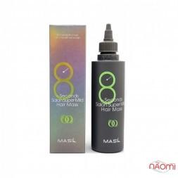 Маска для волосся Masil 8 Seconds Salon Super Mild Hair Mask пом'якшувальна відновлююча для дуже пошкодженого волосся, 200 мл