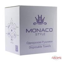 Одноразовые полотенца Monaco Style гладкие, 40х70 см, 50 шт.