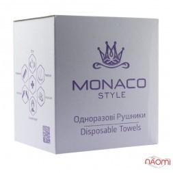 Одноразові рушники Monaco Style гладенькі, 40х70 см, 50 шт.
