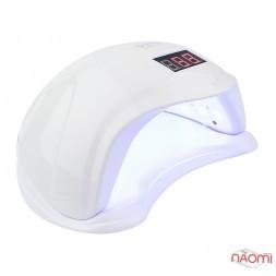 УФ LED лампа светодиодная Sun 5s 48 Вт, таймер 10, 30, 60 и 99 сек, цвет белый