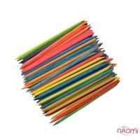 Апельсинові палички, 100 шт./уп., 11 см, колір в асортименті