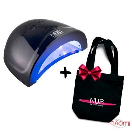 УФ LED лампа светодиодная NUB 48 Вт, таймер 15, 30, 60 сек, цвет темно-синий, фото 1, 1 440.00 грн.