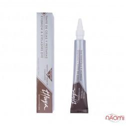 Краска для бровей и ресниц Thuya Professional Line Marron Brown, цвет коричневый, 14 мл
