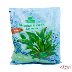 Соль морская для ванн Желана с пеной Зеленый чай, 500 г