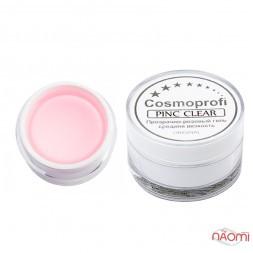 Гель однофазний Cosmoprofi Professional Fast Pink Clear, прозоро-рожевий, 15 г